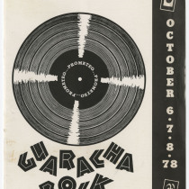 "Program for the production, ""Guaracha Rock"""