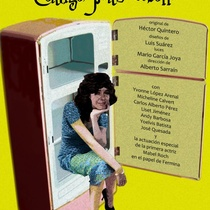 "Flyer of the Production, ""Contigo pan y cebolla""."