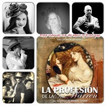"Posters for the production, ""La profesión de la Sra. Warren"" (Miami, 2015)"