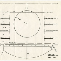 Floor plan, Dade County Auditorium