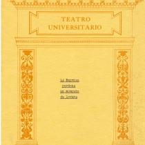 "Program for the production, ""La empresa perdona un momento de locura"""