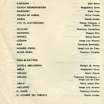 Program for the production, Burgueses