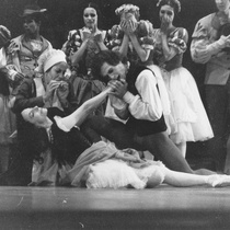 "Sonia Calero, Alicia Alonso, Jorge Esquivel in the Ballet ""Giselle"""
