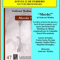 "Program for the production, ""Merde!"""