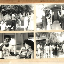 Photographs of Ana Olivarez during her period of training and coexistence with Grupo Teatro Escambray in La Macagua