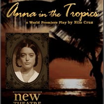 "Poster for the production, ""Anna in the Tropics"""