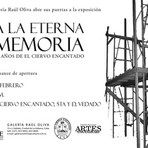 "Invitation to ""A la eterna memoria"""