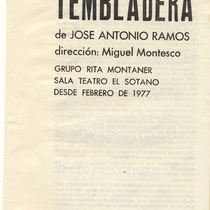 "Program for the production, ""Tembladera"""