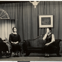 "Scene from the production, ""Martí 9"""