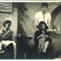 "Photographs of the production, ""Delito en la isla de las cabras"" (Havana, 1956)"