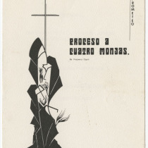 "Invitation for the production, ""Proceso a cuatro monjas"""