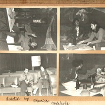 Photographs of the theatrical production, La más fuerte