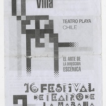 "Program for the production ""Villa"""
