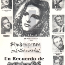 "Poster for the production, ""Noche de Reyes"""