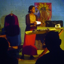 "Photograph of the production, ""Emelina Cundiamor"""