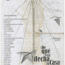 "Program for the production ""¿De qué está hecha tu casa?"""