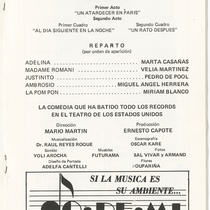 "Program for the production, ""Mi hijo no es lo que parece…"""