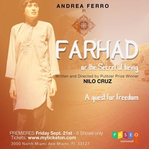 Postcard for the production, Farhad or the Secret of Being
