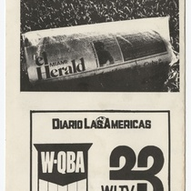 "Playbill for the production, ""Un triángulo más"""