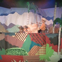 "Photograph of the Production, ""Romance en Charco Seco"""