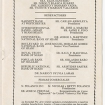 "Program for the production, ""Gigi"""