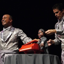 "Photograph of the production, ""Por el monte carulé"""