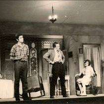 "Photographs of the Production, ""Contigo pan y cebolla""."