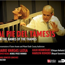 Flyer for the production, Al pie del Támesis