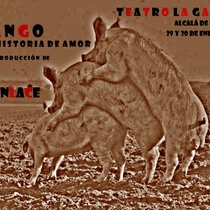 "Poster for the production, ""Fango"" (Alcalá deHenares)"