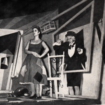 "Photograph of Cristina Lagorio and Issac Verman in the producion ""La zapatera prodigiosa"" (Havana, 1954)"