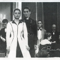 "Photographs of María Suárez and Florencio Escudero in the production, ""Sur"" (Havana, 1956)"