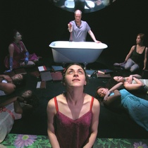 "Scene from the play, ""Twelve Ophelias (Text with Songs)"""