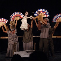 "Photograph of the production, ""La Virgencita de Bronce"""