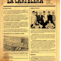 Flyer from El Círculo Teatral de Chicago