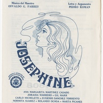 "Playbill for the production, ""Josephine"""