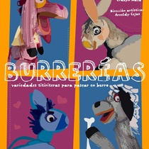 "Poster for the production, ""Burrerías"""