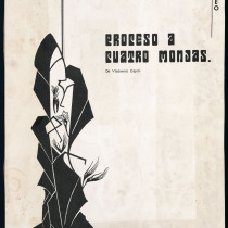 "Poster for the production, ""Proceso a cuatro monjas"""