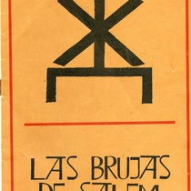 "Program for the production, ""Las brujas de Salem"""