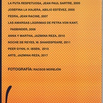 Catalogue for the exhibit, Huella de transgresiones